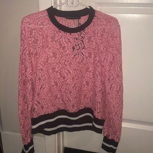Zara pink Sweatshirt